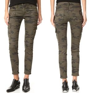 • Hudson • Colby Ankle Moto Skinny Cargo Jeans